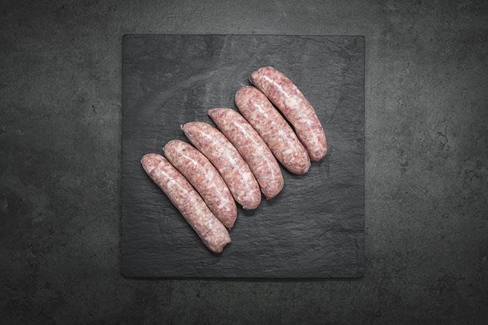 Sausages, 10 traditional pork (660g) approx