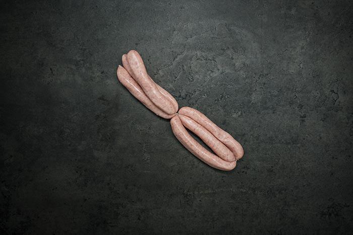 Sausages, 12 british pork chipolata (350g) approx