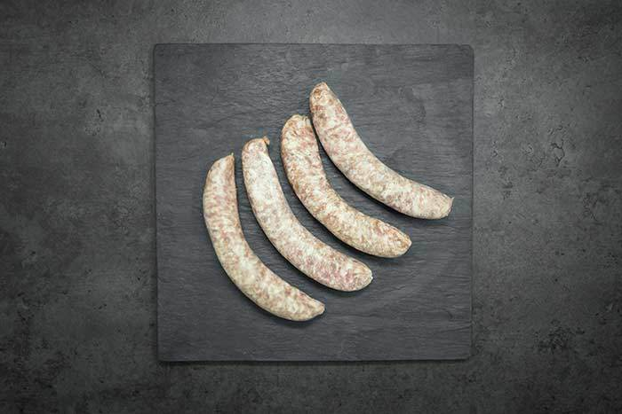 Sausages, 6 british cumberland (400g) approx