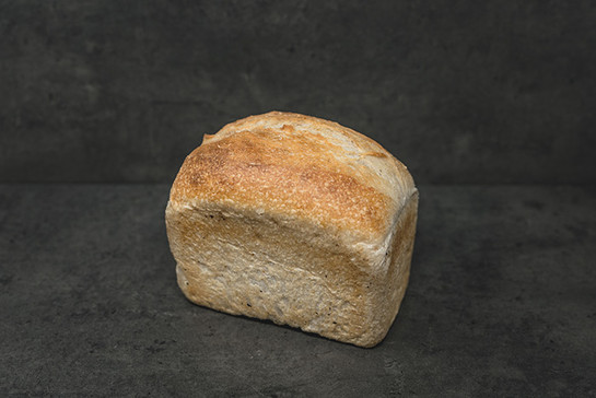 Mild white sourdough tin 400g