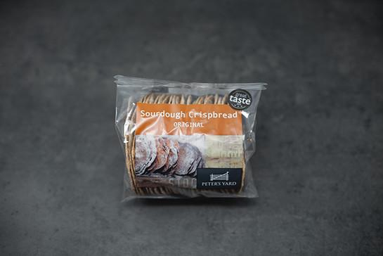 Sourdough crispbread