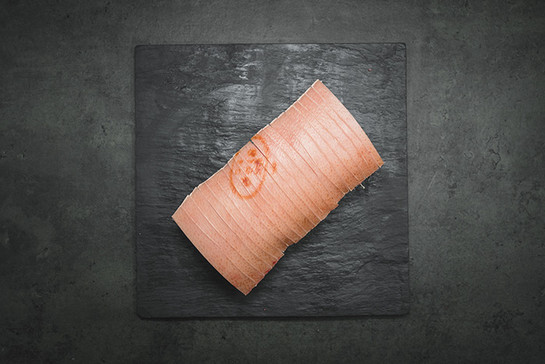 Pork loin roasting joint half