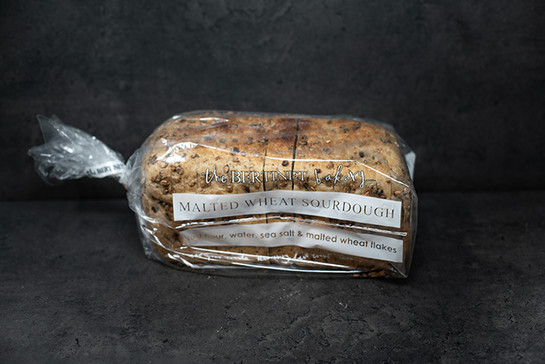 1kg malt wheat sourdough sliced tin