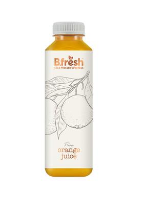 750ml fop bottle premium orange web ready