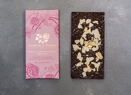 Bar almond flowers and thorn 3315