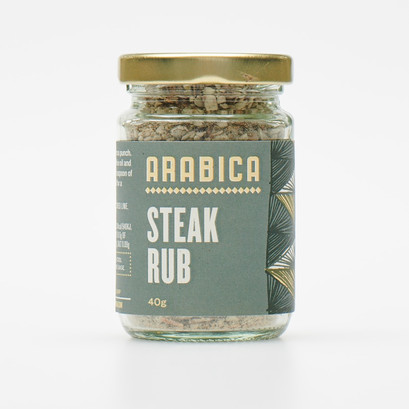 Steak rub front