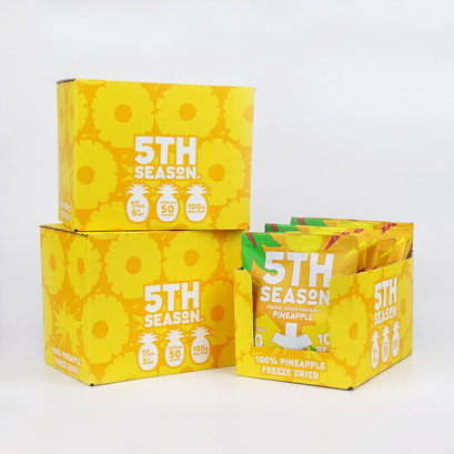Box 3x pineapple