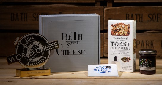 Bath blue cheese gift box