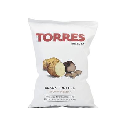 Fr21404 torres black truffle potato crisp 125g brindisa