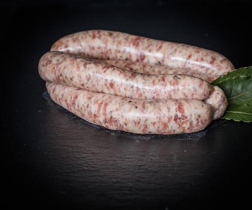 Chipolata sausages