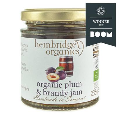 Hembridge organics plumb brandy jam jar 01