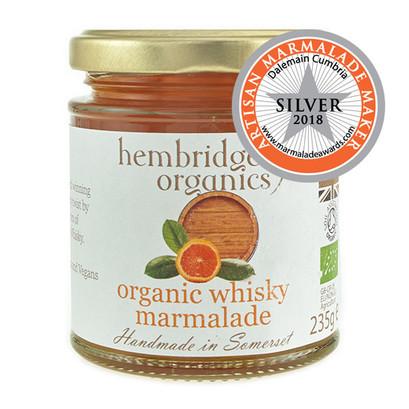 Hembridge organics whisky marmalade jar 01