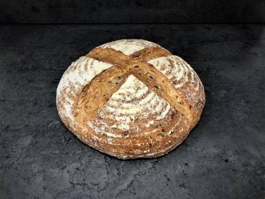 Seedy white sourdough