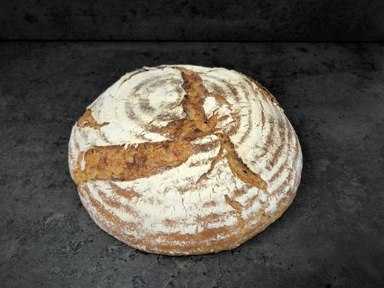 5050 wheat rye sourdough