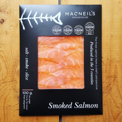 Smoked salmon 100g feb 20