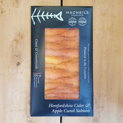 Apple cured salmon 200g 2020 version