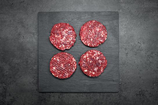 Beef burgers 4