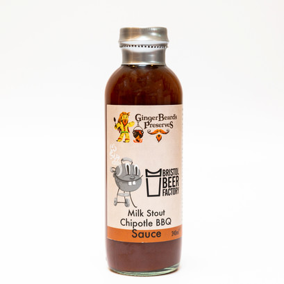 Milk stout chipotle bbq sauce