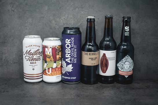 Dark beer selection