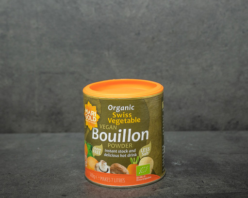 Organic swiss vegetable vegan couillon powder