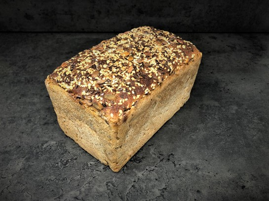 Seedy rye sourdough 700g