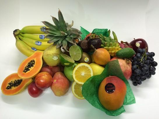Exotic fruit box large