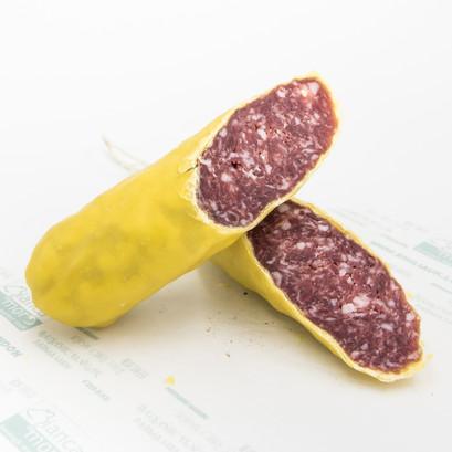 Italian salami beeswax salami slowfood borough market online presidium free range black pork 4 bianca mora