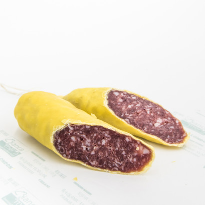 Beeswax salami slowfood presidium free range black pork 2