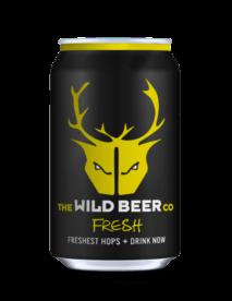 Wild beer fresh pale ale  330ml   5.5