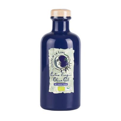 Ol07802 olivar de la luna organic biodynamic evoo 100  nevadillo blanco cold pressed bottle brindisa