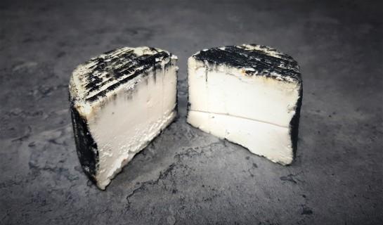 Black cheese cut