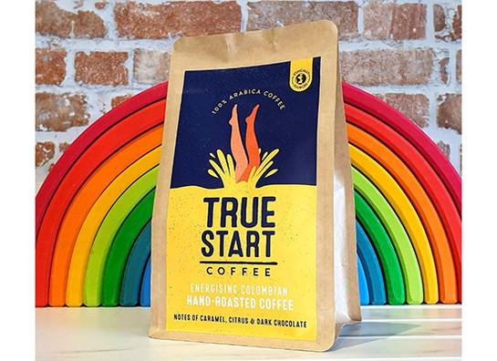 Truestart coffee   energising colombian 200g rainbow