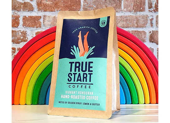 Truestart coffee   vibrant honduran 200g rainbow