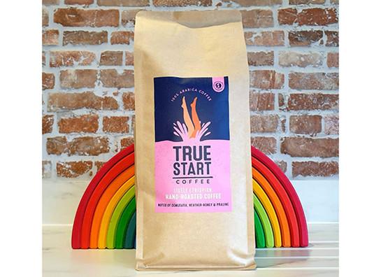 Truestart coffee   lively ethiopian 1kg rainbow