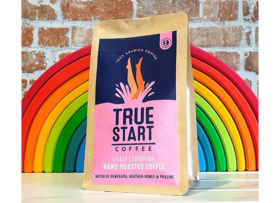 Truestart coffee   lively ethiopian 200g rainbow
