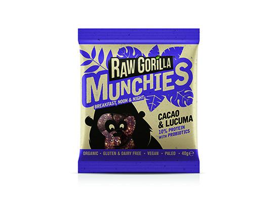 Cacao and lucuma munchies