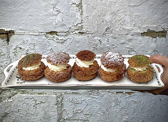 Sugarcane studio choux buns