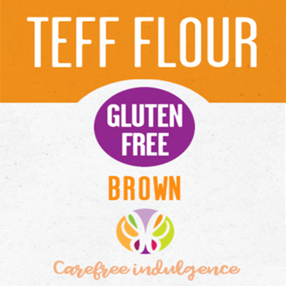 Teff flour   brown 2