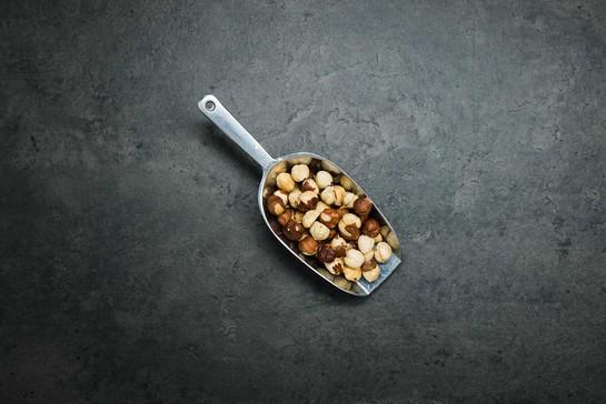 Hazelnuts toasted org 100g