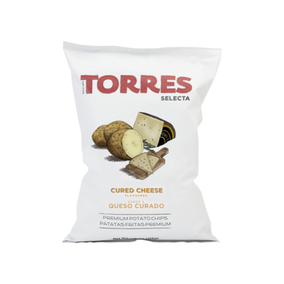 Fr21421 torres cured cheese potato crisp 125g brindisa