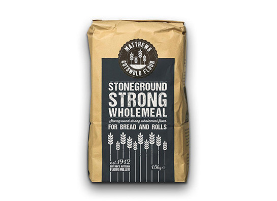 Matthews 0004 stoneground strong wholemeal 1.5kg