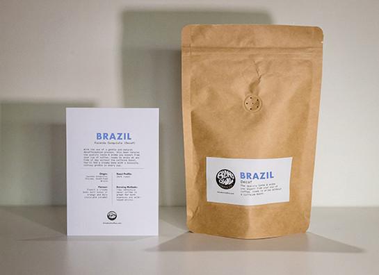 brazil decaf bag