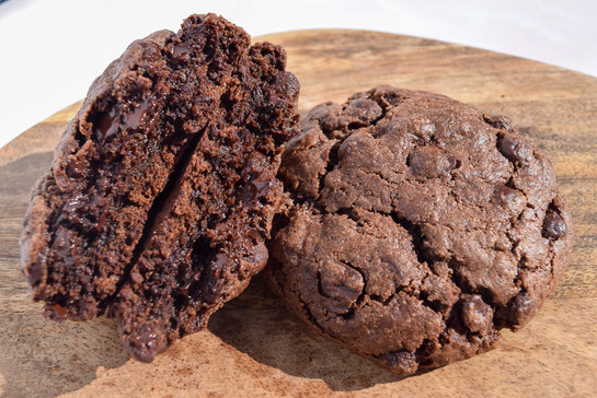 Double choc chip cookies 4