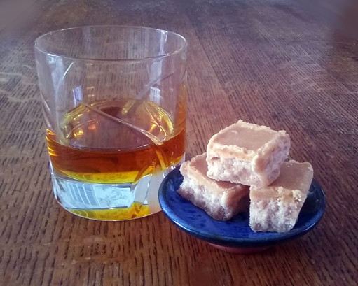 Fudgepots whisky   honey fudge