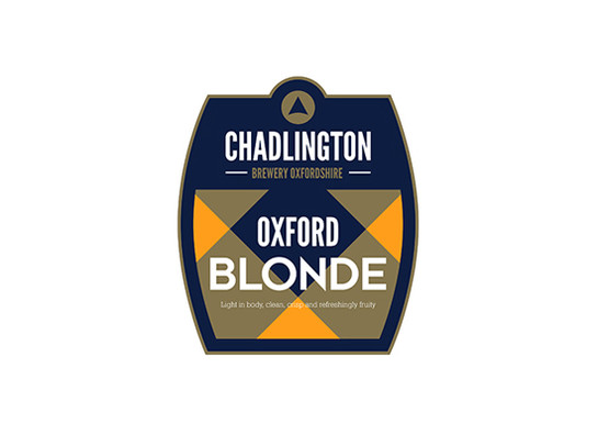 Oxford blonde chadlington brewery