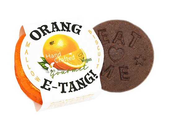 New orange round up with biscuit