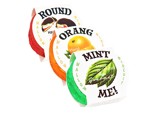 Classic mint orange round ups