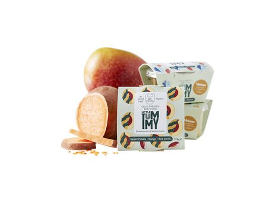 Product bundle taster sweet potato mango red lentil