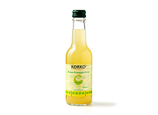 African pineapple drink