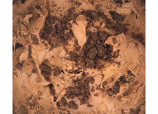 Chocolate brownie gelato